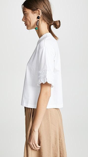 See by Chloé 喇叭袖 T 恤