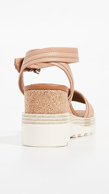 See by Chloé Robin 坡跟凉鞋