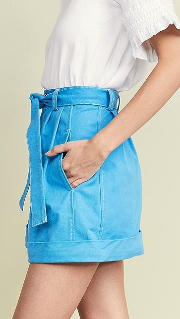 See by Chloé 系腰短裤
