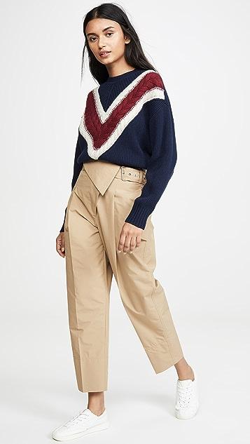 See by Chloé Collegiate 套头衫
