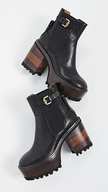 See by Chloé Bryn 厚底短靴