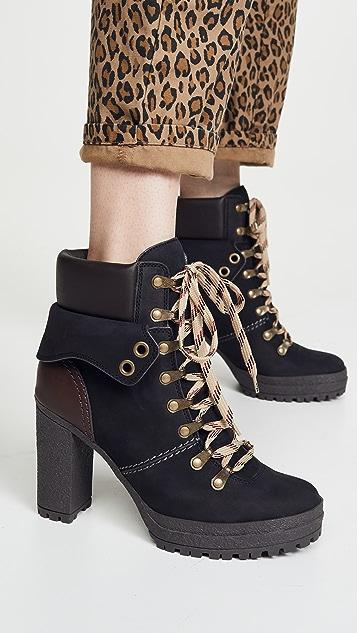 See by Chloé 系带靴子