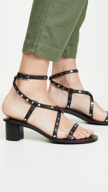 SENSO Lani 粗跟凉鞋