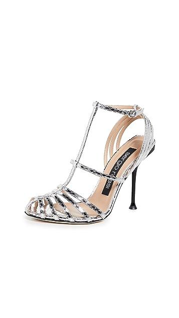 Sergio Rossi Milano 105mm 凉鞋