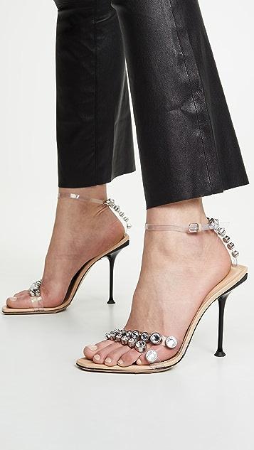 Sergio Rossi 105mm Milano 凉鞋