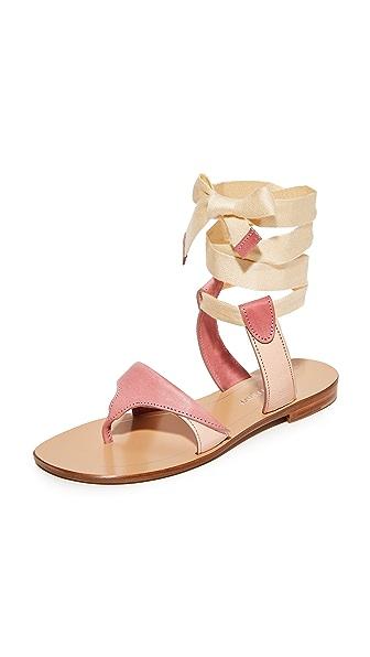 Sarah Flint Grear 系带凉鞋