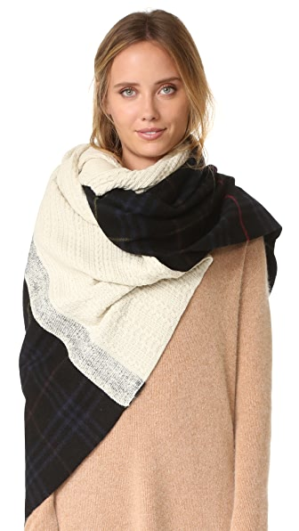 Standard Form 超大 Neo 格子围巾