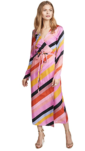 Stine Goya 涡旋花纹连衣裙