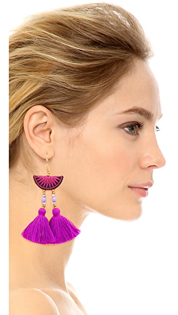 Shashi Camille 耳环