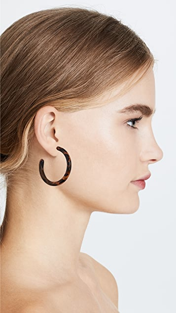 Shashi Leah 圈式耳环