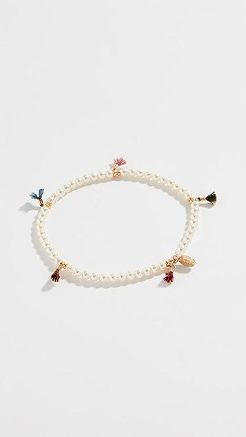 Shashi Lilu 水晶珍珠手链