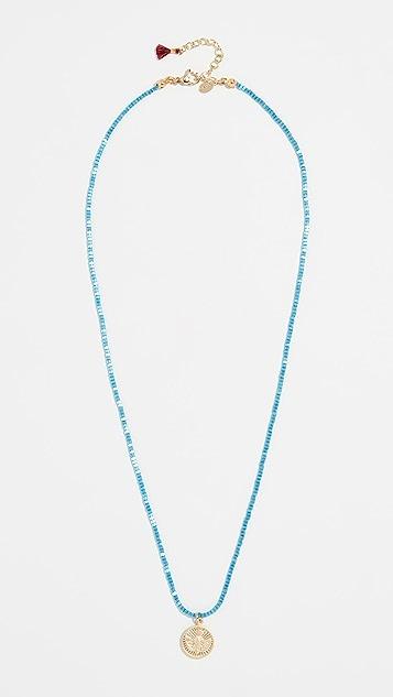 Shashi Blue Jean Baby 项链