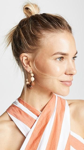 Shashi Rio 圈式耳环