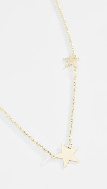 Shashi 双星星项链