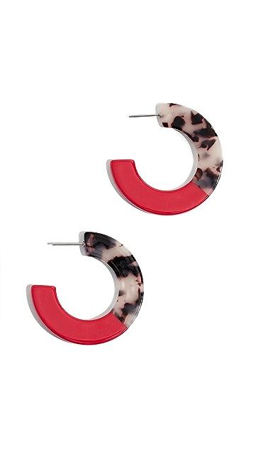 Shashi Peyton 圈式耳环