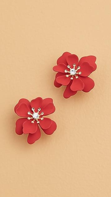 Shashi 花朵耳环