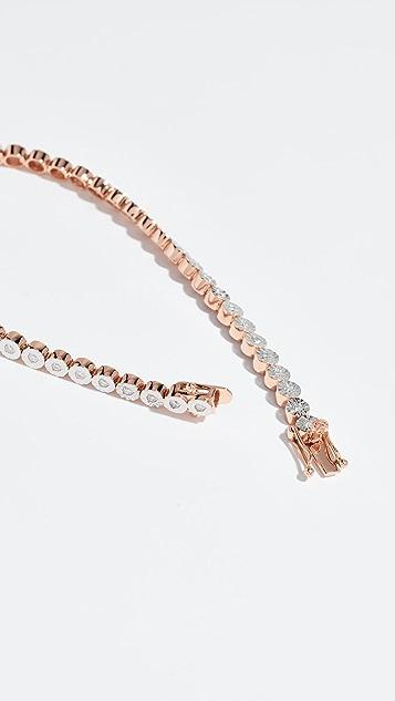 Shay 18K 钻石分段手链