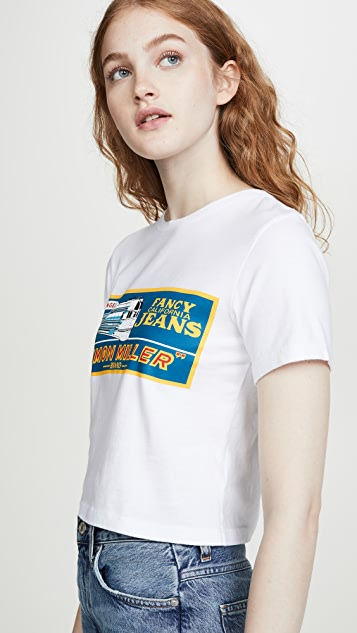 Simon Miller Rondo 短款 T 恤