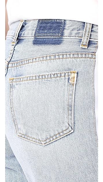 Siwy Memphis 休闲牛仔布百慕大短裤