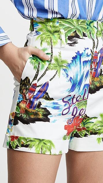 Stella Jean 热带风格短裤
