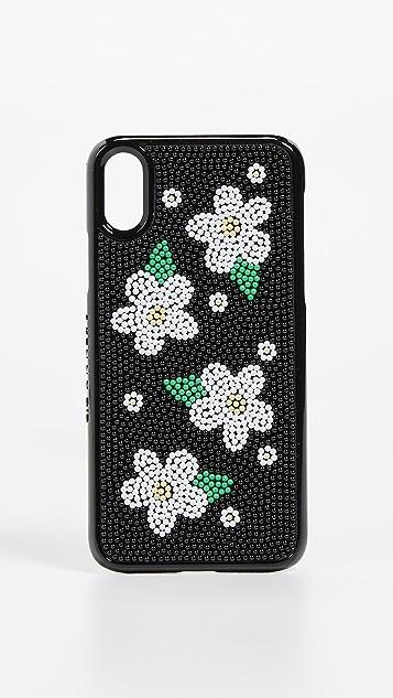Skinnydip 珠饰雏菊 iPhone X / XS 手机壳