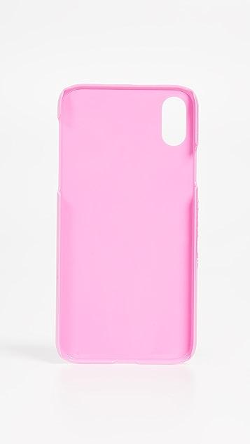 Skinnydip 珠饰樱桃 iPhone X / XS 手机壳