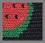 西瓜红/黑色