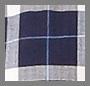 海军蓝 / 蔚蓝 / 白色格子