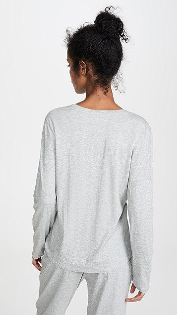 肤色 Oaklynn 长袖 T 恤