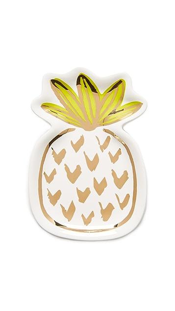 Slant Collections 菠萝装饰托盘