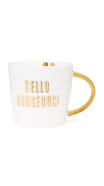 Slant Collections Hello Gorgeous 咖啡杯
