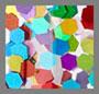 多色五彩碎屑
