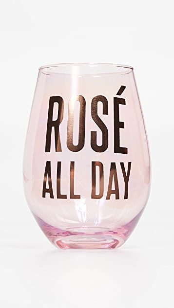 Slant Collections Rose All Day Jumbo 无柄酒杯