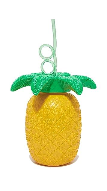 SunnyLife 吸管菠萝杯