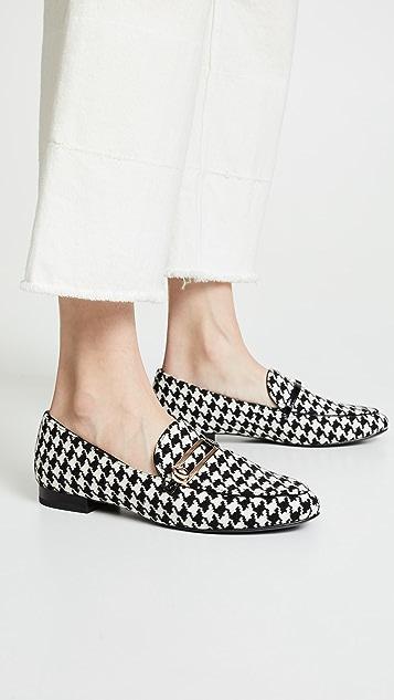 Stella Luna 经典千鸟格平跟船鞋