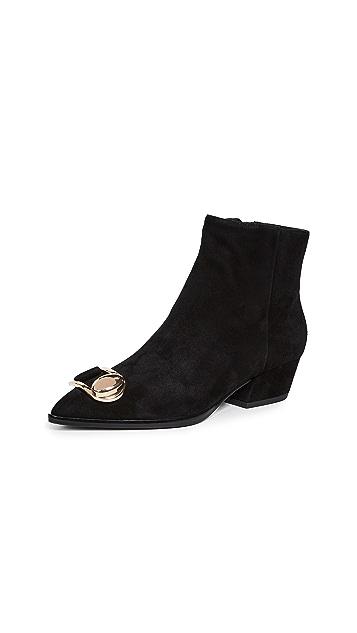 Stella Luna Stella 搭扣踝靴