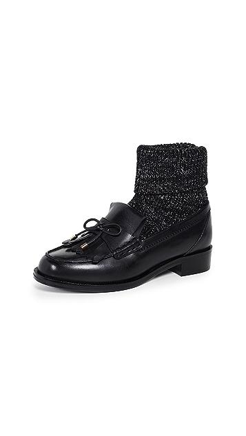 Stella Luna Sorority 袜子装莫卡辛鞋