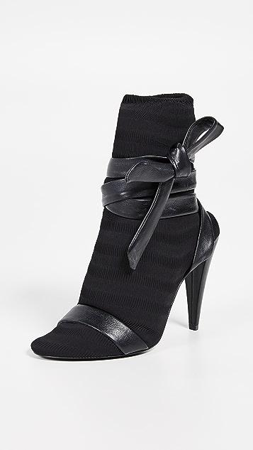 Stella Luna 裥褶短靴