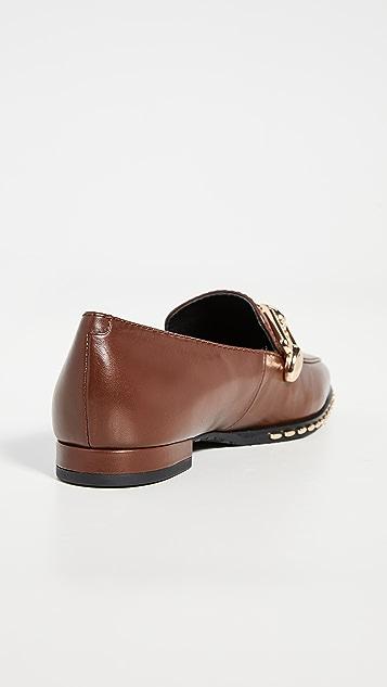 Stella Luna Lenny 铆钉浅口船鞋乐福鞋