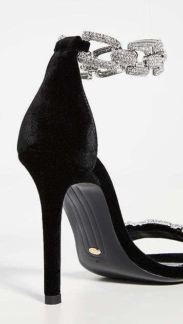 Stella Luna 水钻链式凉鞋
