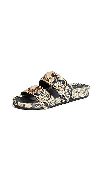 Stella Luna 双环圈凉拖鞋