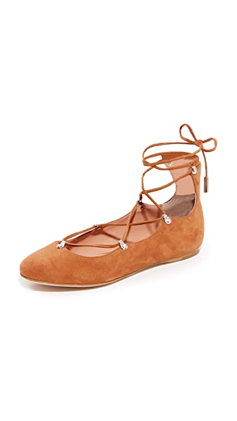 Sigerson Morrison Elias 环绕式芭蕾舞平底鞋