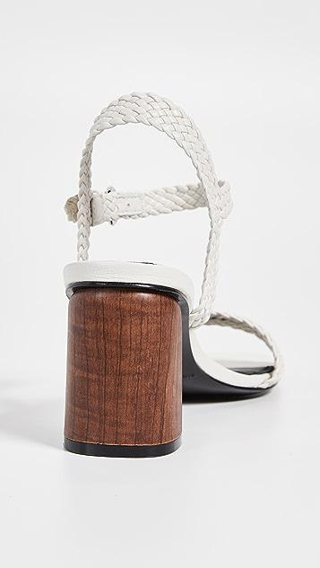 Sigerson Morrison Darby 粗跟凉鞋