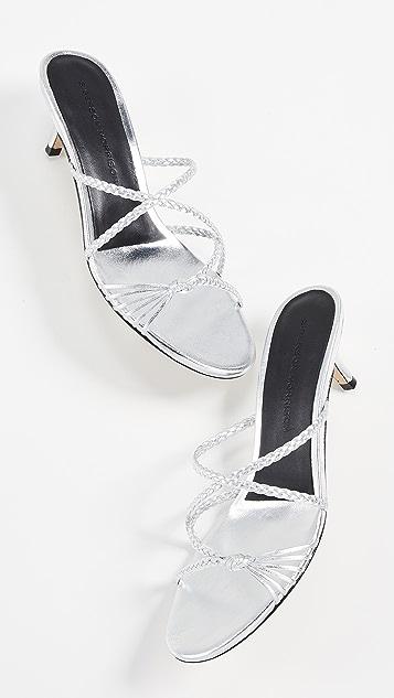 Sigerson Morrison Fyona 猫跟凉拖鞋