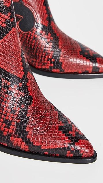 Sigerson Morrison Kaleb 西部风格靴
