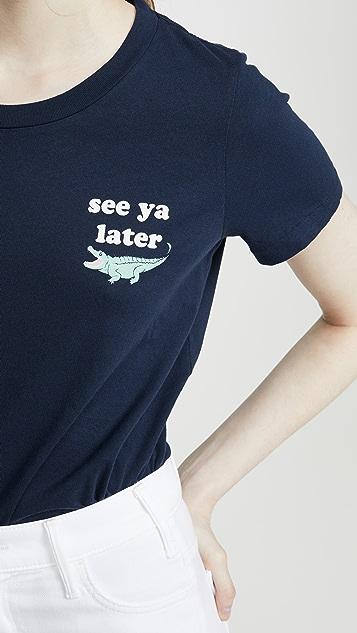 Sol Angeles Later Alligator 圆领 T 恤