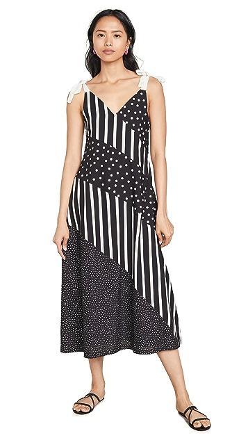Solid & Striped 斜纹连衣裙