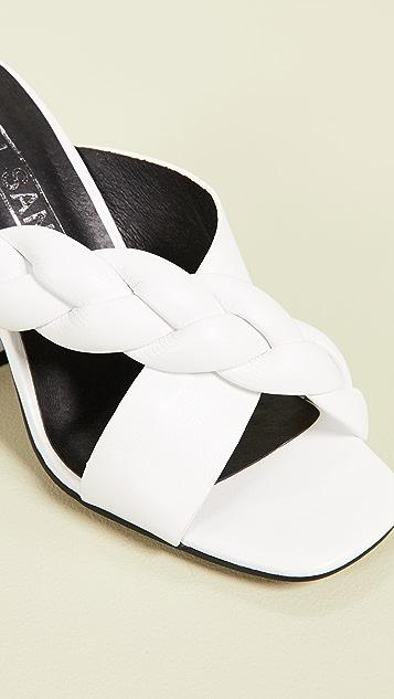 Sol Sana Jovy 粗跟穆勒鞋
