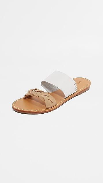 Soludos 穗带凉拖鞋