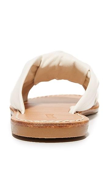 Soludos 结饰凉拖鞋